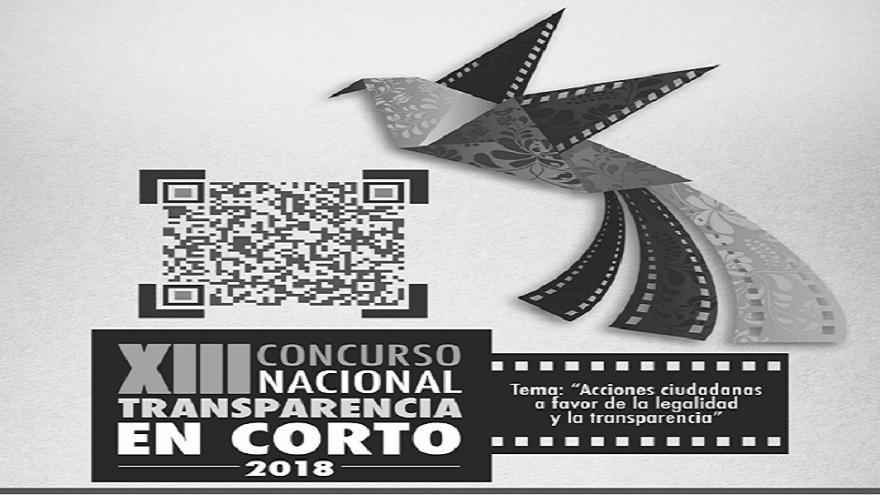 XIII Concurso Nacional de Transparencia en Corto 2018