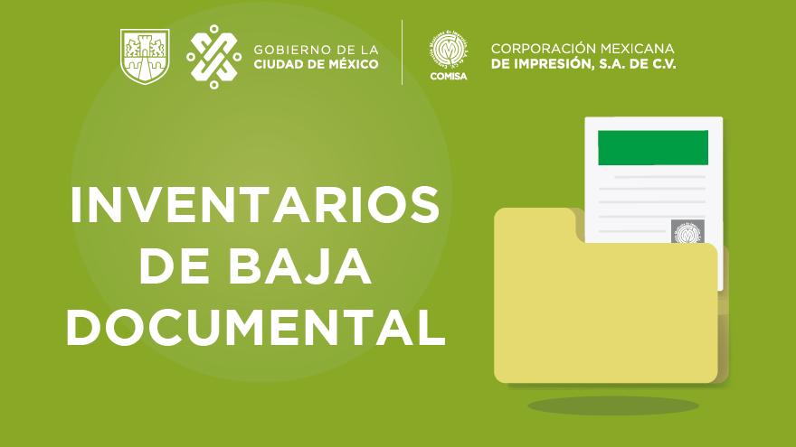 Inventarios de Baja
