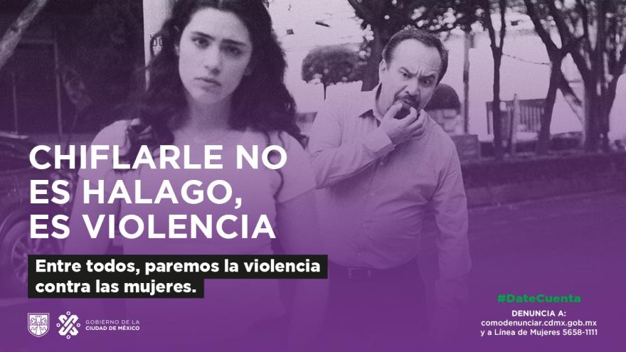 Paremos la violencia contra las mujeres en la calle, en el transporte público, en las relaciones de pareja, en el trabajo. ¡Pongámosle un alto!